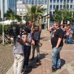 Der Kandidat der Herzen im Interview mit Spiegel-TV