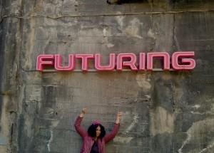 Die Zukunft wird rosa! FUTURING von Eva & Adele auf der Völklinger Hütte