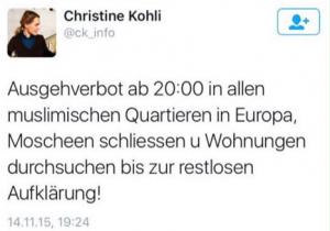 """""""Vorschläge"""" wie dieser hier von FDP-Politikerin Kohli werden mit Erdbeerentzug von mindestens drei Jahren bestraft."""