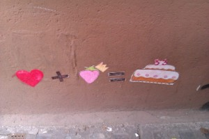 Vorbildliche Streetart