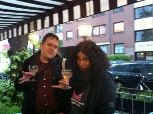 Prinz Leo und Prinzessin Ramona demonstrieren gepflegte Trinkkultur