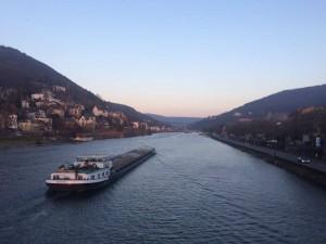 Idyll as usual, ein paar Meter vom Heidelberger Bismarckplatz entfernt Foto: Sarah Hinney